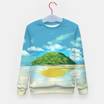 Thumbnail image of kudat by #Bizzartino Kid's sweater, Live Heroes