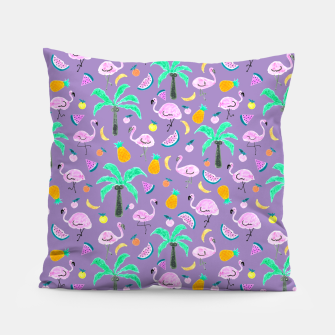 Thumbnail image of Pastel Paradise - Pastel Violet Pillow, Live Heroes