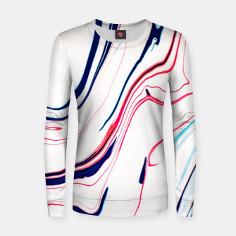 Thumbnail image of Blue Ice Cream Women sweater, Live Heroes