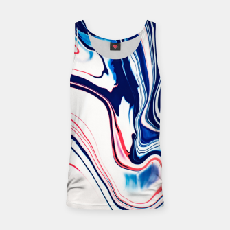 Thumbnail image of Blue Ice Cream Tank Top, Live Heroes