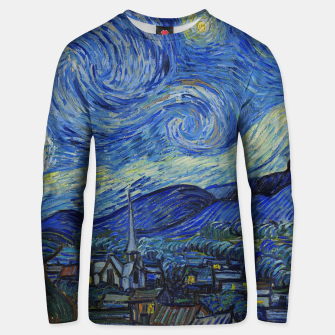 Thumbnail image of The Starry Night Vincent van Gogh Unisex sweater, Live Heroes