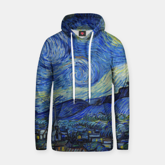 Thumbnail image of The Starry Night Vincent van Gogh Hoodie, Live Heroes