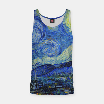 Thumbnail image of The Starry Night Vincent van Gogh Tank Top, Live Heroes