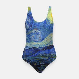 Thumbnail image of The Starry Night Vincent van Gogh Swimsuit, Live Heroes
