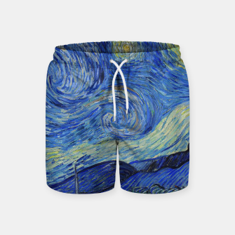 Thumbnail image of The Starry Night Vincent van Gogh Swim Shorts, Live Heroes