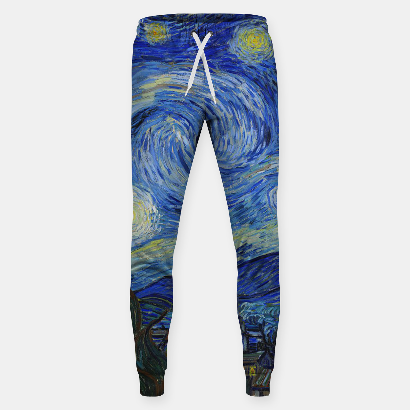 Image of The Starry Night Vincent van Gogh Sweatpants - Live Heroes
