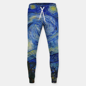 Thumbnail image of The Starry Night Vincent van Gogh Sweatpants, Live Heroes