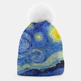 Thumbnail image of The Starry Night Vincent van Gogh Beanie, Live Heroes