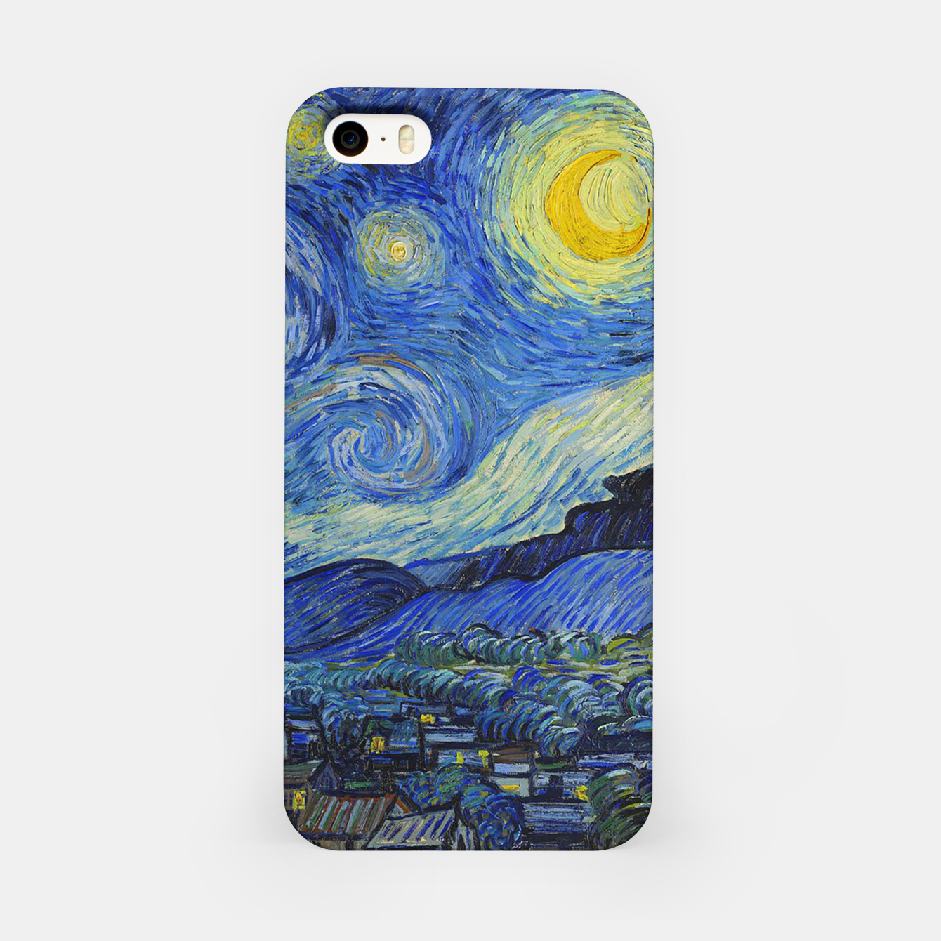 Image of The Starry Night Vincent van Gogh iPhone Case - Live Heroes