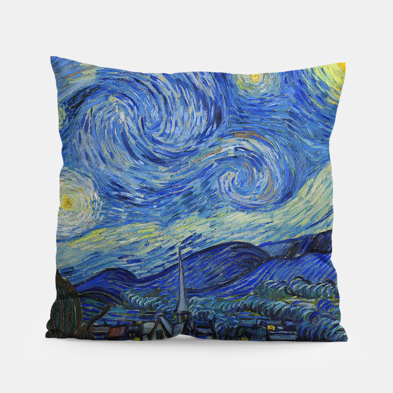 Image of The Starry Night Vincent van Gogh Pillow - Live Heroes