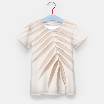 Thumbnail image of Palm Leaf Finesse #1 #minimal #tropical #decor #art  T-Shirt für kinder, Live Heroes
