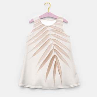 Thumbnail image of Palm Leaf Finesse #1 #minimal #tropical #decor #art  Mädchen-Sommerkleid, Live Heroes