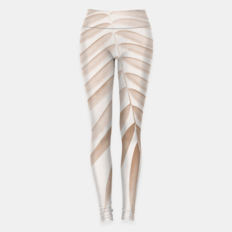 Thumbnail image of Palm Leaf Finesse #1 #minimal #tropical #decor #art  Leggings, Live Heroes