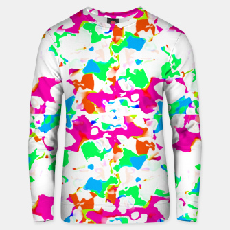 Thumbnail image of Vibrant Multicolored Abstract Print Unisex sweater, Live Heroes