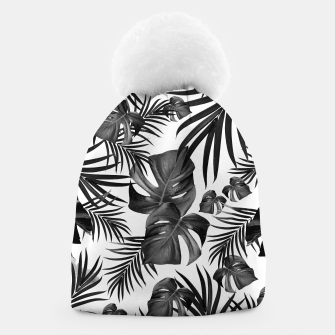 Thumbnail image of Tropical Jungle Leaves Pattern #10 (2020 Edition) #tropical #decor #art Mütze, Live Heroes