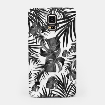 Thumbnail image of Tropical Jungle Leaves Pattern #10 (2020 Edition) #tropical #decor #art Handyhülle für Samsung, Live Heroes