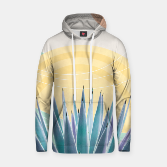 Miniatur Agave in the Desert Oasis #3 #tropical #wall #art  Kapuzenpullover, Live Heroes