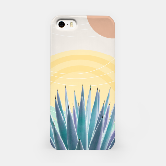 Miniatur Agave in the Desert Oasis #3 #tropical #wall #art  iPhone-Hülle, Live Heroes