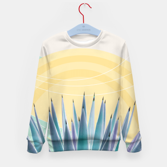 Miniatur Agave in the Desert Oasis #3 #tropical #wall #art  Kindersweatshirt, Live Heroes