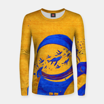 Thumbnail image of Berber Spaceman Underwater  Women sweater, Live Heroes