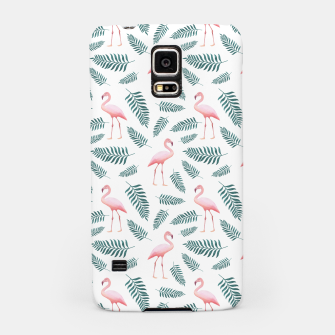 Thumbnail image of Flamingos and Palms Samsung Case, Live Heroes