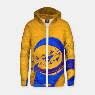 Thumbnail image of Berber Spaceman Underwater  Zip up hoodie, Live Heroes