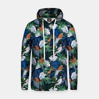 Thumbnail image of Monkeys in the dark jungle Sudadera con capucha, Live Heroes