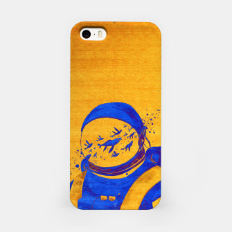 Thumbnail image of Berber Spaceman Underwater  iPhone Case, Live Heroes