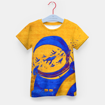 Thumbnail image of Berber Spaceman Underwater  Kid's t-shirt, Live Heroes