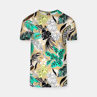 Thumbnail image of Tropic nature abstract Camiseta, Live Heroes