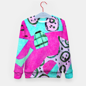 Thumbnail image of Glaring Kid's sweater, Live Heroes