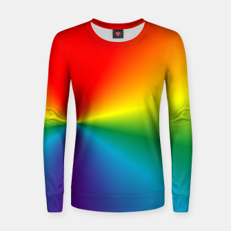 Thumbnail image of rainbow Women sweater, Live Heroes