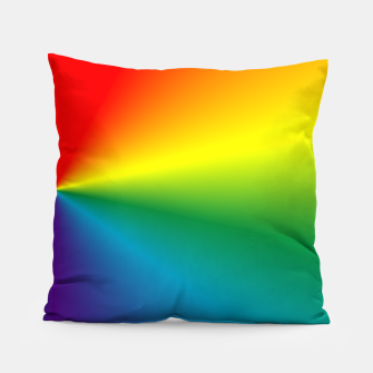Thumbnail image of rainbow Pillow, Live Heroes
