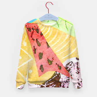 Thumbnail image of Grasshopper Kid's sweater, Live Heroes