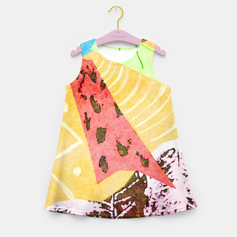 Thumbnail image of Grasshopper Girl's summer dress, Live Heroes