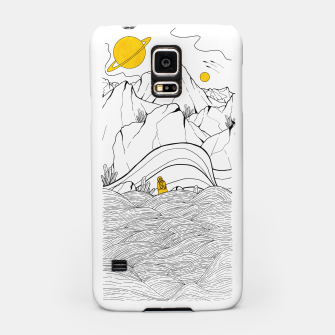 Miniature de image de The space seacliffs  Samsung Case, Live Heroes