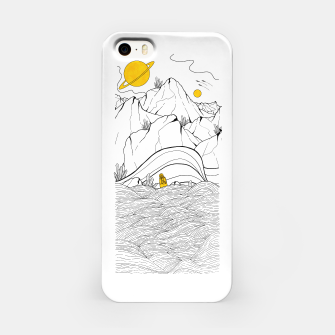 Miniature de image de The space seacliffs  iPhone Case, Live Heroes