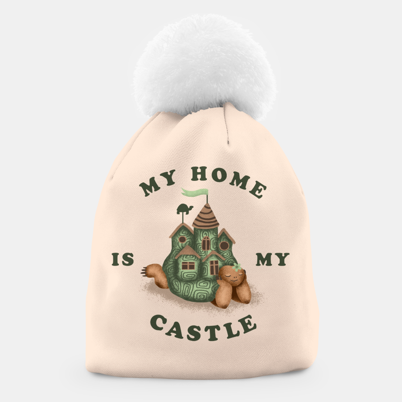 Image de My Home Is My Castle Beanie - Live Heroes