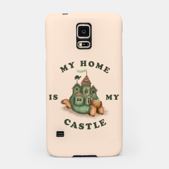 Miniature de image de My Home Is My Castle Samsung Case, Live Heroes