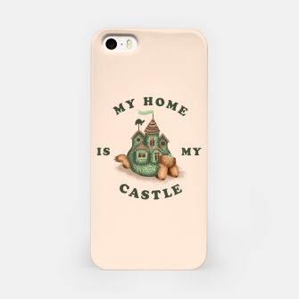 Miniature de image de My Home Is My Castle iPhone Case, Live Heroes
