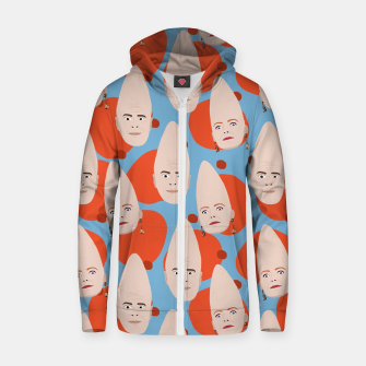 Thumbnail image of Coneheads Zip up hoodie, Live Heroes