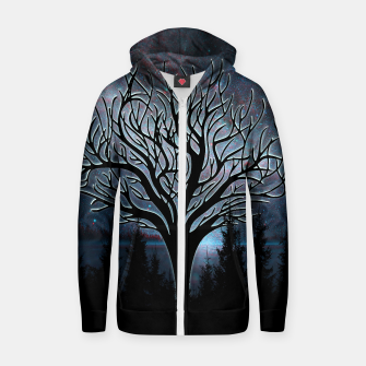 Thumbnail image of Dark Tree Hoodie, Live Heroes