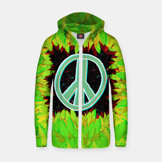 Thumbnail image of Green Peace Hoodie, Live Heroes