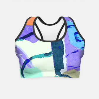 Thumbnail image of Pups Crop Top, Live Heroes