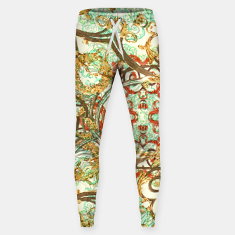 Thumbnail image of Multicolored Modern Collage Print  Sweatpants, Live Heroes