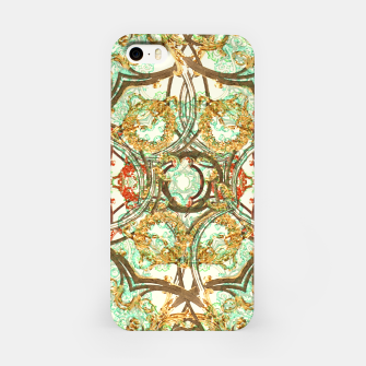 Thumbnail image of Multicolored Modern Collage Print  iPhone Case, Live Heroes