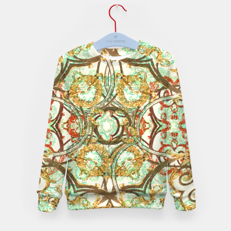 Thumbnail image of Multicolored Modern Collage Print  Kid's sweater, Live Heroes