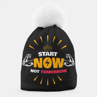 Thumbnail image of START NOW NOT TOMORROW  Beanie, Live Heroes