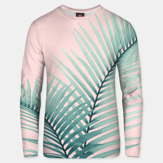 Thumbnail image of Intertwined - Palm Leaves in Love #2 #tropical #decor #art Unisex sweatshirt, Live Heroes
