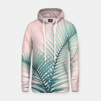 Thumbnail image of Intertwined - Palm Leaves in Love #2 #tropical #decor #art Kapuzenpullover, Live Heroes